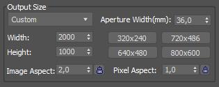 3Ds Max ile Render Çözünürlük ve Baskı Ayarları Nasıl Olmalıdır? [Print size assistant kullanımı]